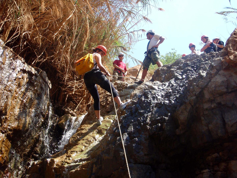 Canyoning Jordan adventures