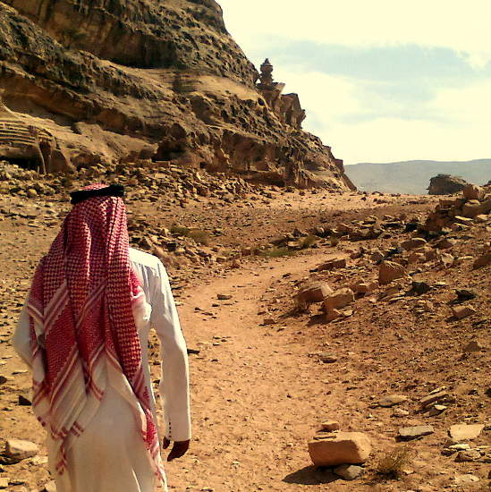 hiking and walking in Jordan