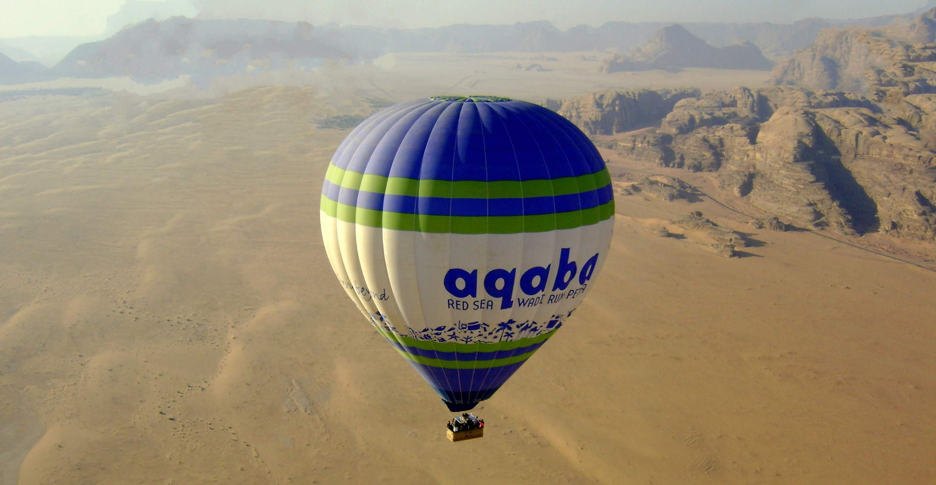 Wadi Rum Balloon Ride